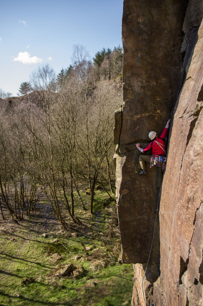 Jim Symon on Samarkand, VS, at Anglezarke
