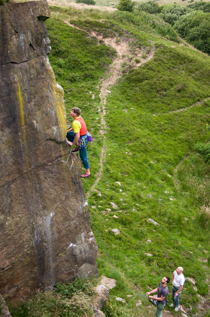 Ian Carr on Ha'Penny Arete, Deeply Vale