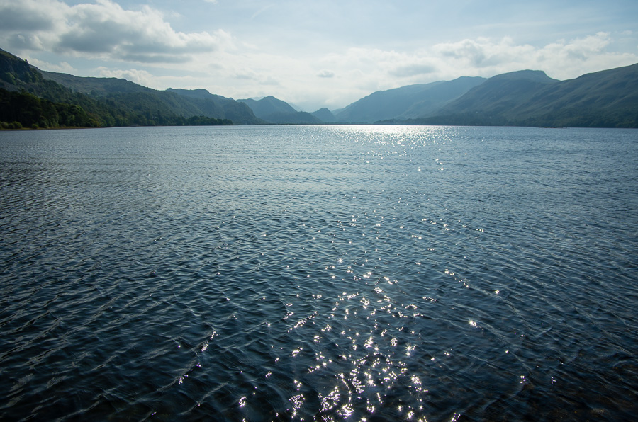 Looking south down Derwent Water